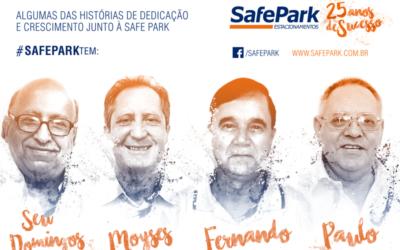 Campanha de 25 anos segue valorizando quem é parte da história da Safe Park
