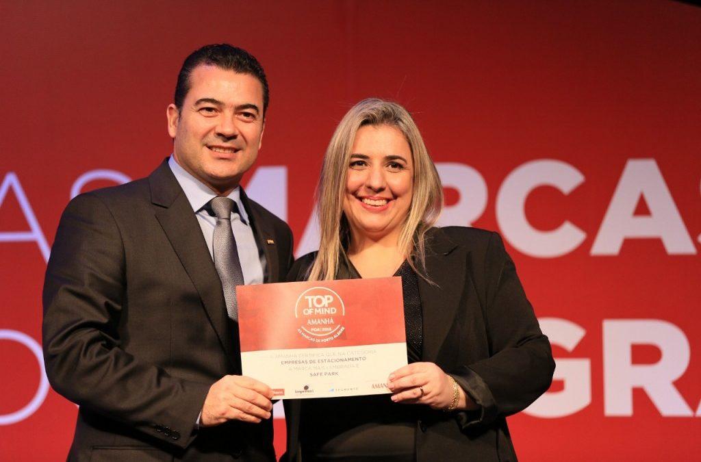 Safe Park mais uma vez recebe o Prêmio Top Of Mind